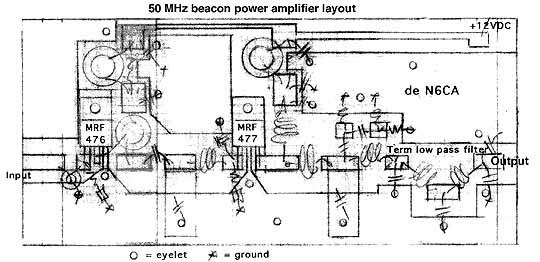 50 mhz 30 watt beacon